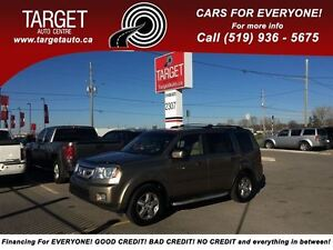 2009 Honda Pilot EX-L, Loaded; Leather, Roof, Drives Great Very