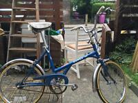 Restored Shopper bike lady cycle new service new tyre new tube Dawes