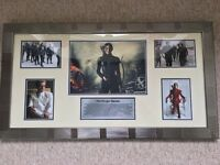 The Hunger Games - Beautifully Framed Movie Art - Picture/Photograph / Collection / Montage - As New