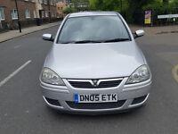 2005 Vauxhall Corsa 1.4 Silver 5dr Hatchback Petrol AUTO MOT June 2017Full service history 1owner