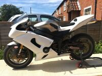 Kawasaki ZX6R Track Bike with V5 and HPI clear