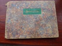 Interesting vintage old collectible autograph book in good condition