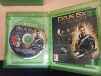 Deus Ex Mankind Divided- Day One Edition - Xbox One
