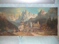 Original Oil Painting from Germany by Bauer with Provenance