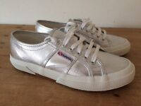 Brand new superga trainers size 6