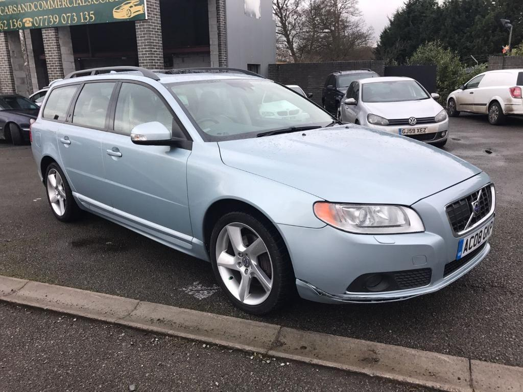 volvo v70 se sport d5 automatic blue 2008 in maidstone. Black Bedroom Furniture Sets. Home Design Ideas