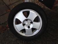 Ford Fiesta 14 inch allo
