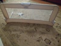 Unused BabyStart Bed Rail - Natural
