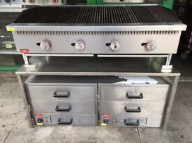 CATERING COMMERCIAL NEW PERI PERI CHICKEN HOT HOLDING CABINET DRAWER CUISINE FAST FOOD TAKE AWAY BBQ