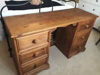 Pine Desk / Dressing Table