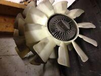 1986-1991 Mazda RX7 Turbo Clutch Fan Assembly