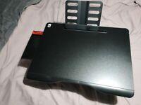 Cooper Mega Table XXL Folding Laptop Desk for Bed & Sofa Reading Stand Black Onyx 65 x 49 x 26.9 cm