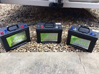 110Ah 12v Leisure Battery (3x available)