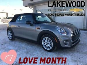 2017 MINI Cooper Convertible Cooper (Auto Push Start/Stop, Nav,