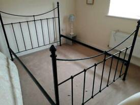 Cast Iron Bed Frame