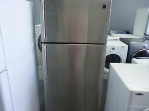 34 -  FRIGO STAINLESS FRIDGE 32'' FRIGIDAIRE GALLERY