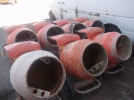 belle 110v cement mixers no stands