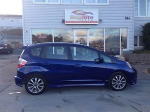 2012 Honda Fit Sport Bluetooth, AC, and cruise control