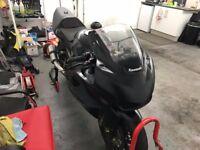 Kawasaki ZX6R track race bike ready to go - will px for subaru / evo + cash