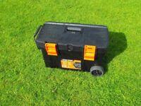 Black & Decker wheeled LARGE TOOL BOX/CHEST 65cm long x 35cm high x 35cm wide - NEW