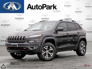 2017 Jeep Cherokee Trailhawk 4X4 | HEATED & COOLED LEATHER |...