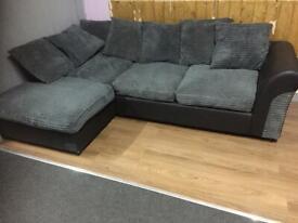 Ex-Catalogue Return Jumbocord Corner Sofa