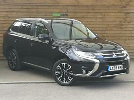Mitsubishi Outlander 2.0 PHEV 4Work GX3h Auto HYBRID COMMERCIAL (amethyst black pearlescent) 2015