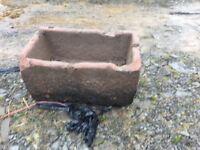 Sandstone trough