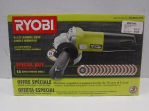 """Ryobi 4 1/2"""" Angle Grinder Special Offer Edition (In Box) - We Buy and Sell Power Tools - 116937 - OR1020405"""