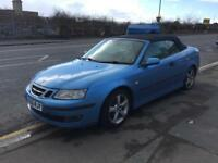 Saab 9-3 2.0 T Vector 2dr,2007 (56 reg), Convertible,lady owner