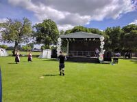Outdoor STAGE, portable stage hire Manchester, Colchester, Kent, London, Oxford, Northampton