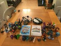 Wii Games - Skylanders Trapteam & Swapforce