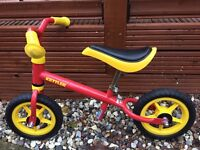 Kettler Red and Yellow Balance Bike