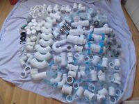 Various new plumbing fittings