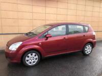 Toyota 7 Seater Corolla Verso 38.000 Miles