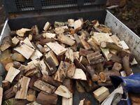 1 tonne bags of seasoned logs