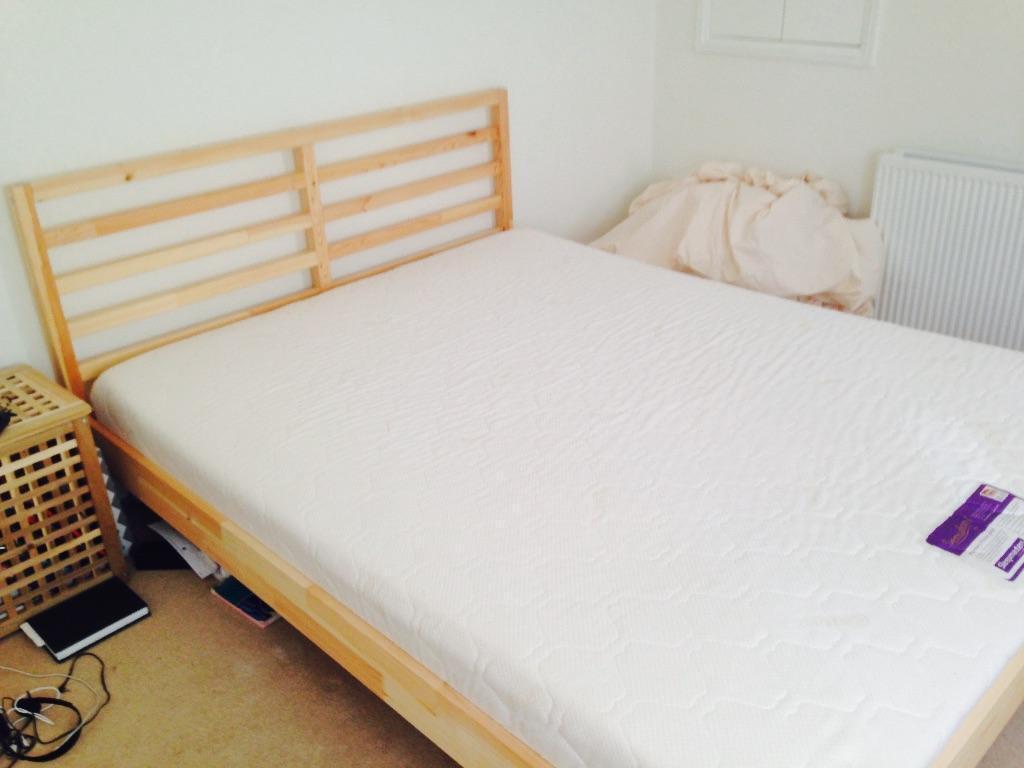 IKEA Tarva King Bed with Mattress in Richmond London  : 86 from www.gumtree.com size 1024 x 768 jpeg 52kB
