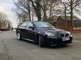 BMW Black 5-series SPORT good condition, clean and comfortable