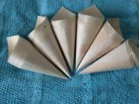 Wedding confetti cones