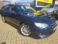 Subaru Legacy 2.0 D REN Sports Tourer 5dr full leather Full Service History, 3 MONTHS WARRANTY