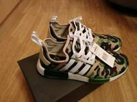 Adidas bape nmd size 8 and 9