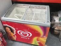 Wall's Ice Cream Display Chest Freezer - Vista 12 LED