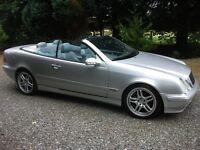 2002 Mercedes Benz, 230 CLK, Avantgarde, Kompressor, Auto Tip, Convertible