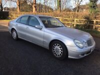 Mercedes Benz E220 Diesel Silver Automatic 53 Plate