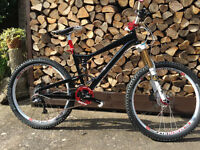 Diamondback Mission One Custom Full Suspension Mountain Bike- Fox,XTR,Hope,Blackspire,Stans