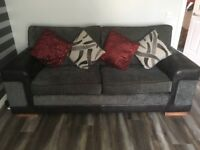 Very good condition settee and armchair for sale