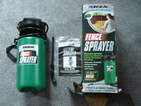 FENCE SPRAYER - RONSEAL NEW AND UNUSED