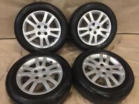 "15"" Honda Civic alloy wheels"