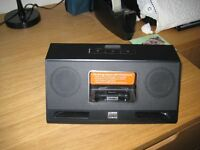 i phone ipad mp3 compatable on the go vivid sound stereo player real good sound as new.