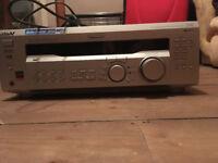 Fully working Sony STR-DE445 amplifier in silver